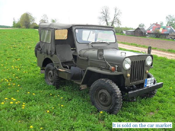 Jeep/Willys,2.2(1960 y.)