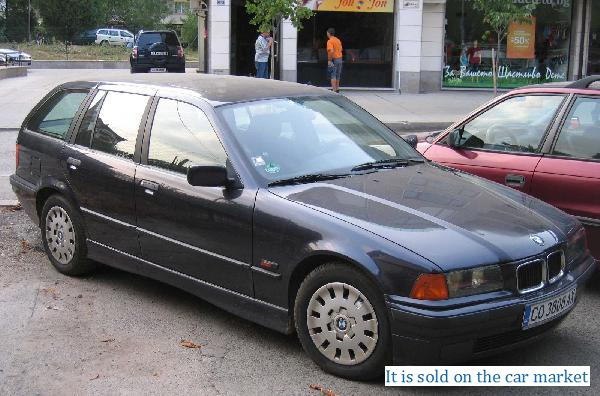 BMW/3 Series Touring,1.8(1996 y.)