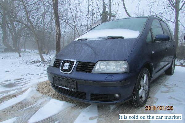 Seat/Alhambra,1.9(2001 y.)