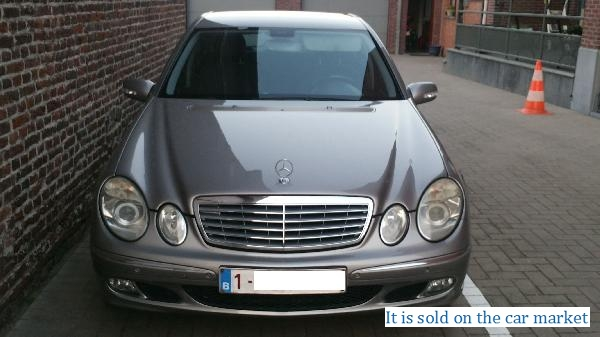 Mercedes-Benz/E-class sedan,5.5(2005 y.)