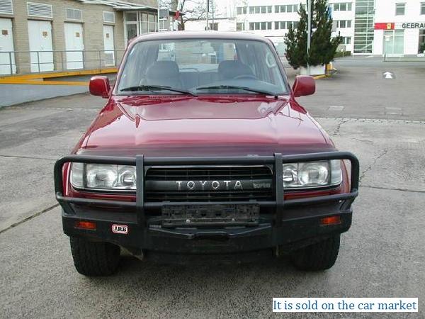 Toyota/Land Cruiser 80,4.2(1994 y.)