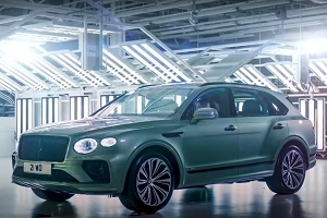 The British presented a restyled Bentley Bentayga