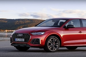The Germans are preparing a restyling version of the Audi Q5