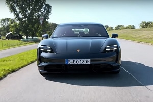 Porsche Taycan Turbo S test drive