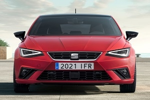 First look at the updated Seat Ibiza