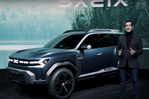 Presentation of the Dacia Bigster concept