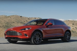 A first look at the new Aston Martin DBX