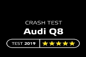 Audi Q8 crash test