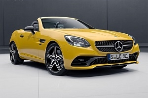 The Germans are preparing the release of the Mercedes SLC Final Edition