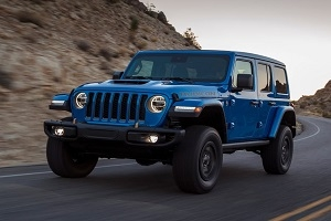We dream of a new Jeep Wrangler Rubicon 392 on V8