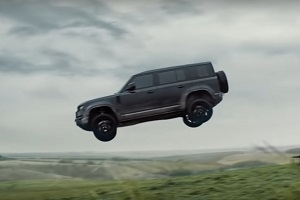 Land Rover learned to fly