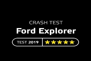 Ford Explorer crash test