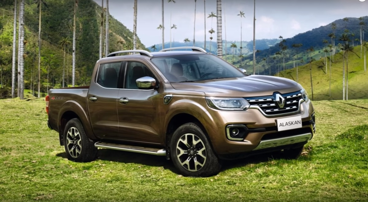 French from Renault presented pickup called Alaskan