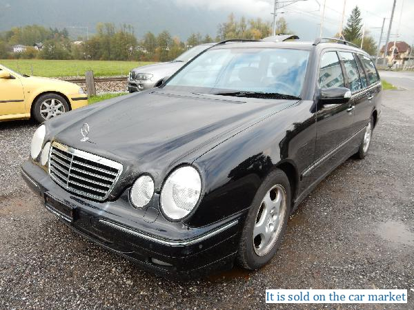 Mercedes-Benz/E-class estate,2.6(2001 y.)