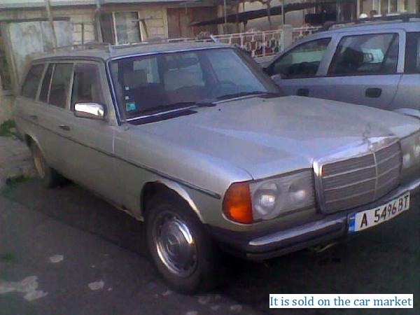 selling liftback mercedes benz e class estate 2 4 1979