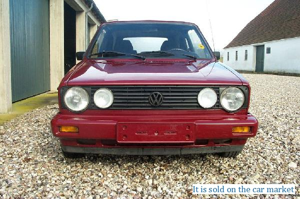 Volkswagen/Golf 1,1.6(1984 y.)