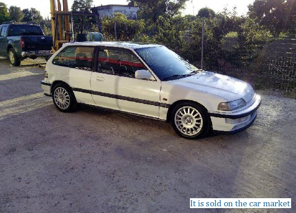 Honda/Civic,1.6(1992 y.)