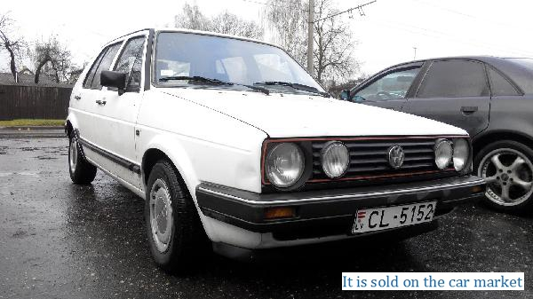 Volkswagen/Golf 3,1.8(1985 y.)