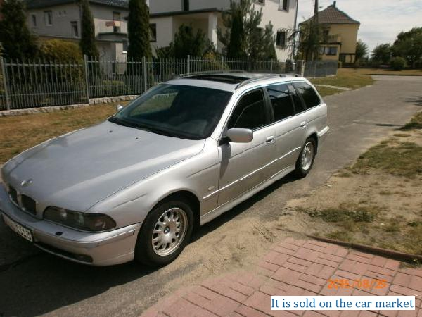 BMW/5 Series Touring,2.0(2000 y.)