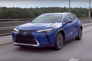 The first test of the new Lexus UX