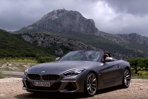 The first acquaintance with the new BMW Z4
