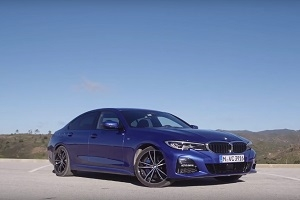 Test drive of the new BMW 3-Series