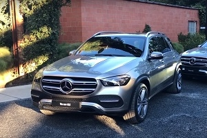 Test Drive Mercedes GLE