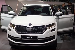 Paris hosts the official presentation of Skoda Kodiaq