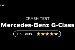 Crash test Mercedes-Benz G-Class 2019