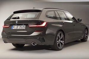 The Germans presented the new BMW 3-Series Touring