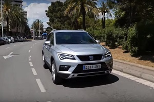 The first test drive Seat Ateca